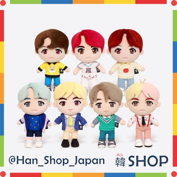 [特典付き] BTS 公式 キャラクター ぬいぐるみ CHARACTER PLUSH TOY メンバー選択 |hanshop