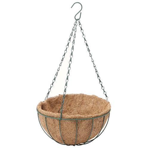 /植木鉢・プランター/ハンギングバスケット L/専用ヤシマット付/|hanwa-ex|03