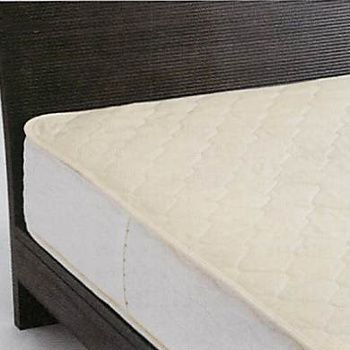 京都西川 ROSELUXE(ローズ・ラグゼ) ベッドパッド(ウール100%わた使用)クイーン(Q:165×200cm)BY450 ベッドパッド(ウール100%わた使用)クイーン(Q:165×200cm)BY450