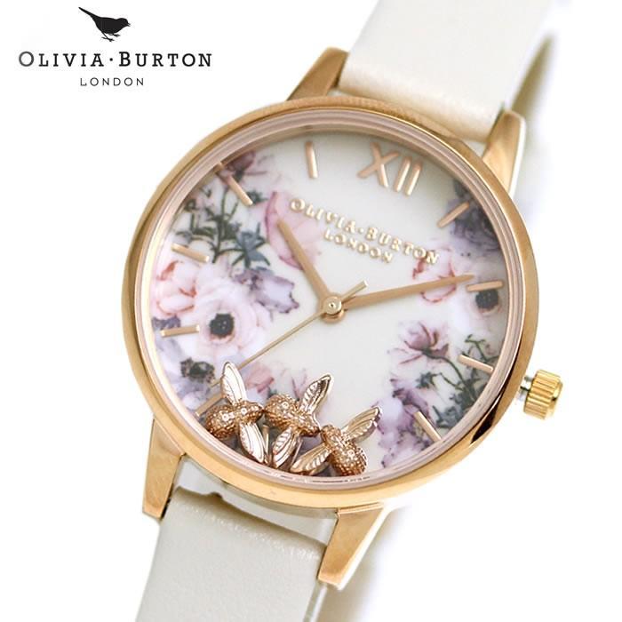 新作 オリビアバートン Olivia Burton レディース 腕時計 OB16CH13 レザー, 創快健美 a6ff0deb