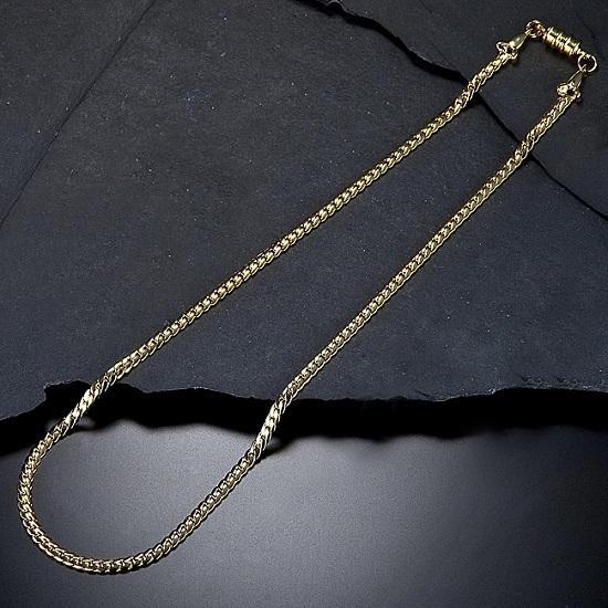 磁気ネックレス おしゃれ ネックレス 喜平 肩こり暖和 頭痛暖和|happinesnet-stora|02