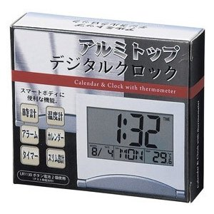 置き時計 デジタル 小さい ギフト 粗品 販促品 記念品 プレゼント ノベルティ happinesnet-stora 03