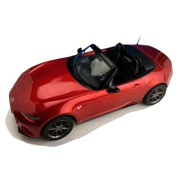 First18/ファースト18 マツダ NEW ロードスター ソウルレッドプレミアムメタリック 1/18スケール F18017モデルカー 屋根 玩具