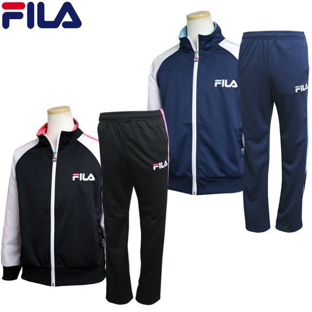 FILA(フィラ) ジャージ 上下セット 子供 ジュニア キッズ 女の子 トレーニングウェア スポーツウェア サマーSALE|happy-f