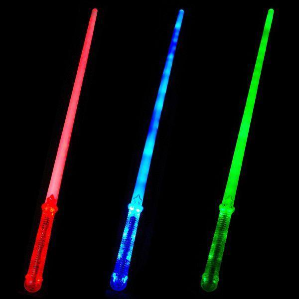 ライトセーバー LED最多ソード 全3色 ライトな刀 ライトセイバー スターウォーズ Star Wars 光る剣 光るおもちゃ 光るグッズ|happy-joint|02