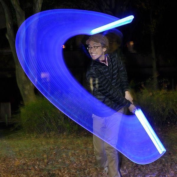 ブルーセーバーライトセーバー | ライトセイバー 光る剣 EDM パーティー動画 光るおもちゃ パーティーグッズ エレクトリックラン コーデ 光るグッズ ||happy-joint|05
