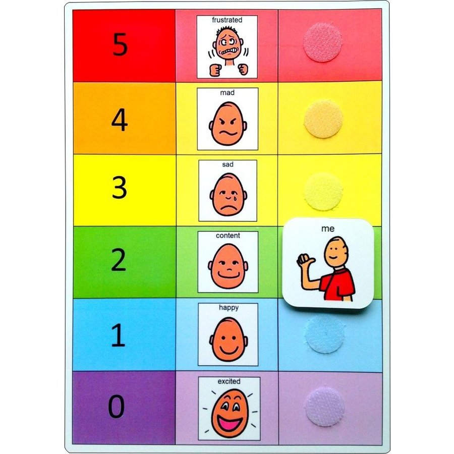 Autism Supplies And Developments PECS Feelings Board ASD5016 [並行輸入品]