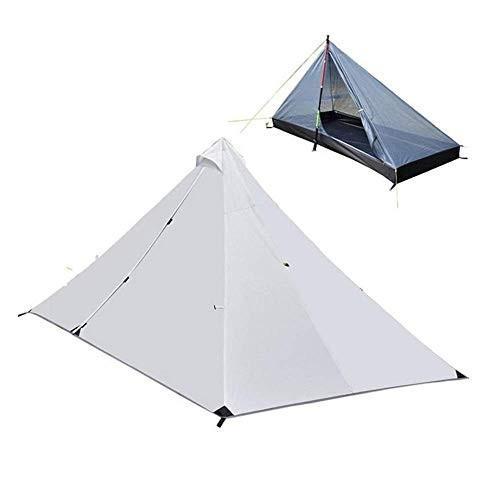 テント ワンポールテント 1-2人用 キャンプテント 簡単設営 PU3000防水 (ポールは別売) happy-square
