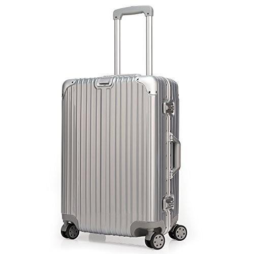最愛 クロース(Kroeus)スーツケース TSAロック搭載 キャリーケース 機内持込可 アルミフレーム 旅 機内持込可 ベルトフック付き 旅, Present-web:f059140e --- fresh-beauty.com.au