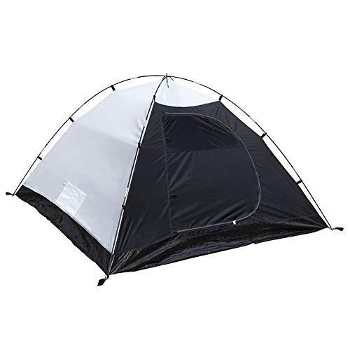 キャンプテント 3-4人 二重層 ドームテント 前室あり (21080)x215x125cm 防水PU2000/5000アウトドア 登山/ツーリング/ピ happy-square 03