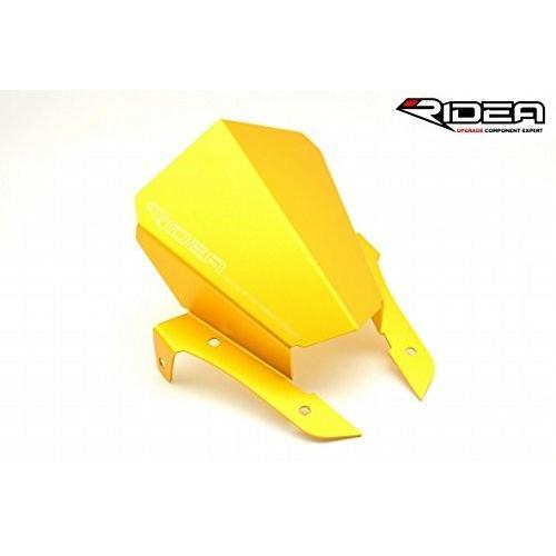 【数量は多】 RIDEA アルミショートスクリーン ゴールド [AW-Y02-GD] (MT-07/MT-07 ABS 14-), オコレ 8a3e42fe