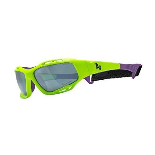 720armour(セブントゥエンティアーマー) Stingrayシリーズ スポーツサングラス 偏光レンズモデル Matte Neon Apple 緑 B3
