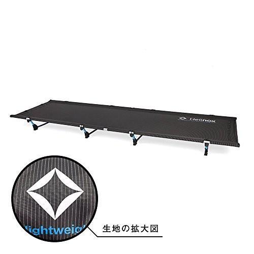Helinox(ヘリノックス) 折りたたみ式ベッド ライト コット (Lite Cot) ブラック (Black) [並行輸入品]