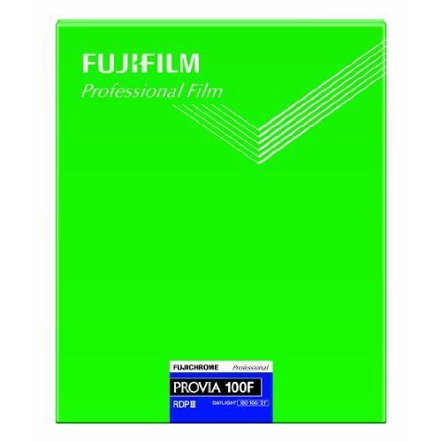 FUJIFILM リバーサルフィルム フジクローム PROVIA 100F シート 20枚 CUT PROVIA100F NP 8X10 20