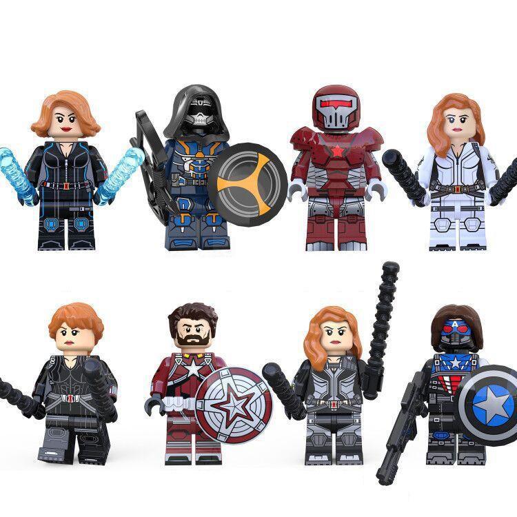 ブロック互換 レゴ 互換品 レゴミニフィグ アベンジャーズ プレゼント LEGO 爆売り レゴブロック クリスマス 他8体Qセット 大人気!