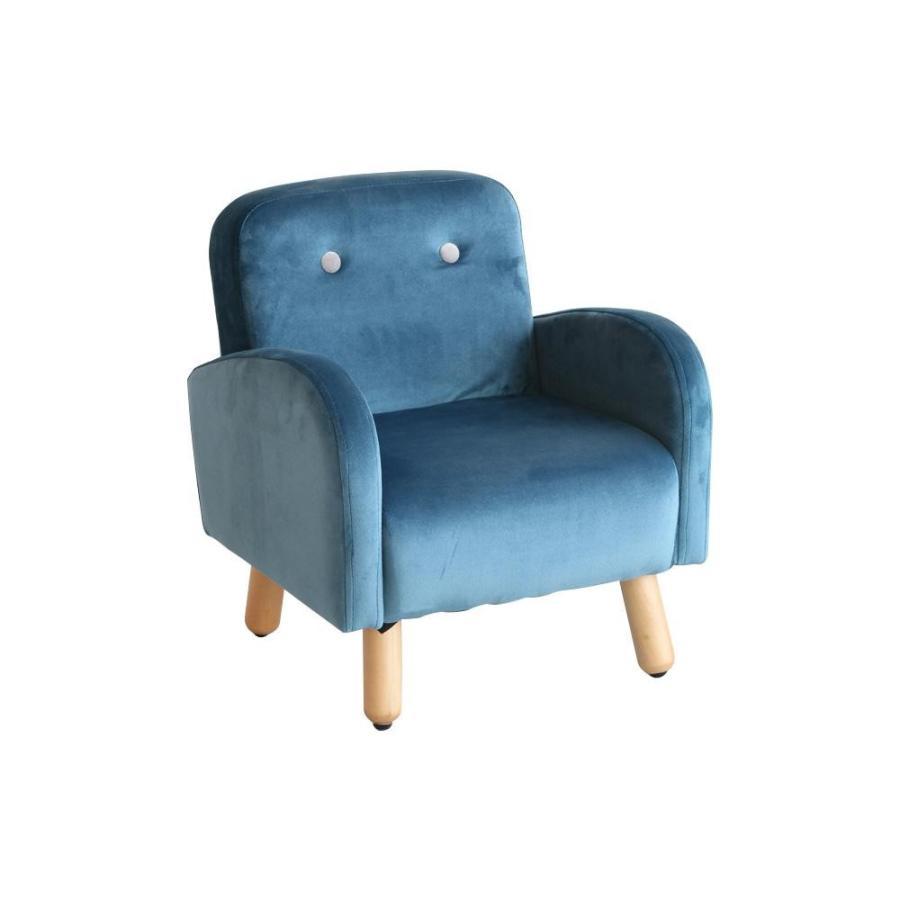 代引き不可キッズパーソナルソファ ブルー HLI-5005BL子供用 HLI-5005BL子供用 椅子 キッズソファー