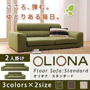 ローソファー 2人掛け ローソファ こたつ用ソファにも OLIONA OLIONA OLIONA Standard 671