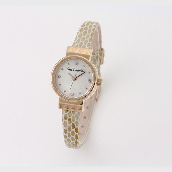 超爆安 Guy Laroche(ギラロッシュ) 腕時計 L5009-02, カラフル&ナチュラルなエコマコ 8e6fce35