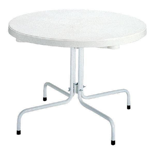【直送】三甲(サンコー) サンテーブル システム-2 ホワイト〔代引不可〕
