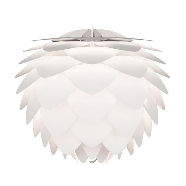 【直送】ペンダントライト/照明器具 〔1灯〕 北欧 北欧 ELUX(エルックス) VITA Silvia ホワイトコード 〔電球別売〕〔代引不可〕