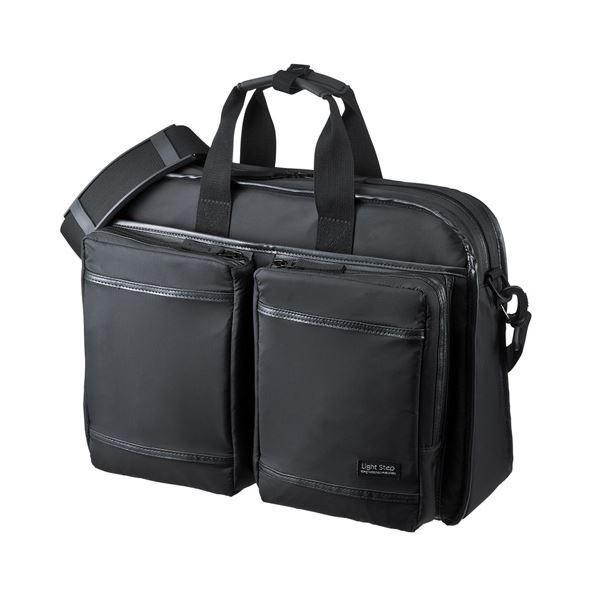 【直送】サンワサプライ 超撥水・軽量PCバッグ BAG-LW9BK