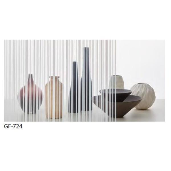 【直送】ストライプ 飛散防止 ガラスフィルム サンゲツ GF-724 92cm巾 10m巻