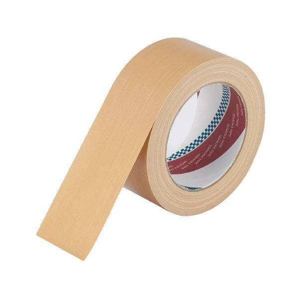 【直送】寺岡製作所 布テープ 1590NP 50mm×25m 無包装 90巻