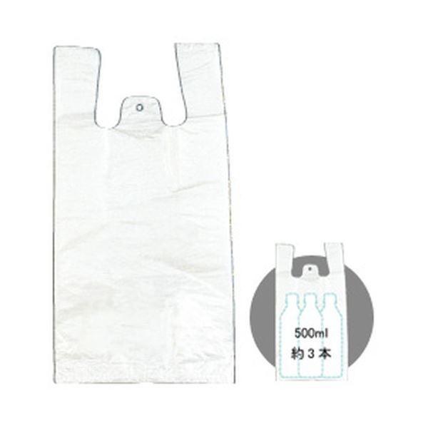 【直送】レジ袋(半透明) 1パック/100枚 M M M 1箱(40パック) 8c3