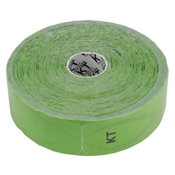 【直送】テーピング/キネシオロジーテープ 〔グリーン〕 幅50mm ジャンボロールタイプ 150枚入り 『KT TAPE PRO KTテーププロ』