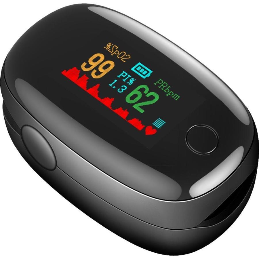 【送料無料】OXINAVI(オキシナビ)ワンタッチで簡単に計測できる血中酸素濃度計測器♪ 血中酸素濃度 血液酸素  酸素濃度計|happylife-shop2|04