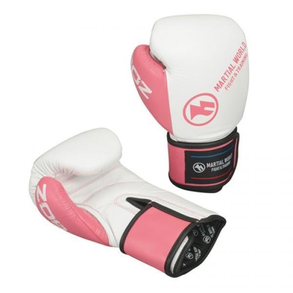 ベーシックグローブ 16oz ピンク白 BG12-16-PKWH