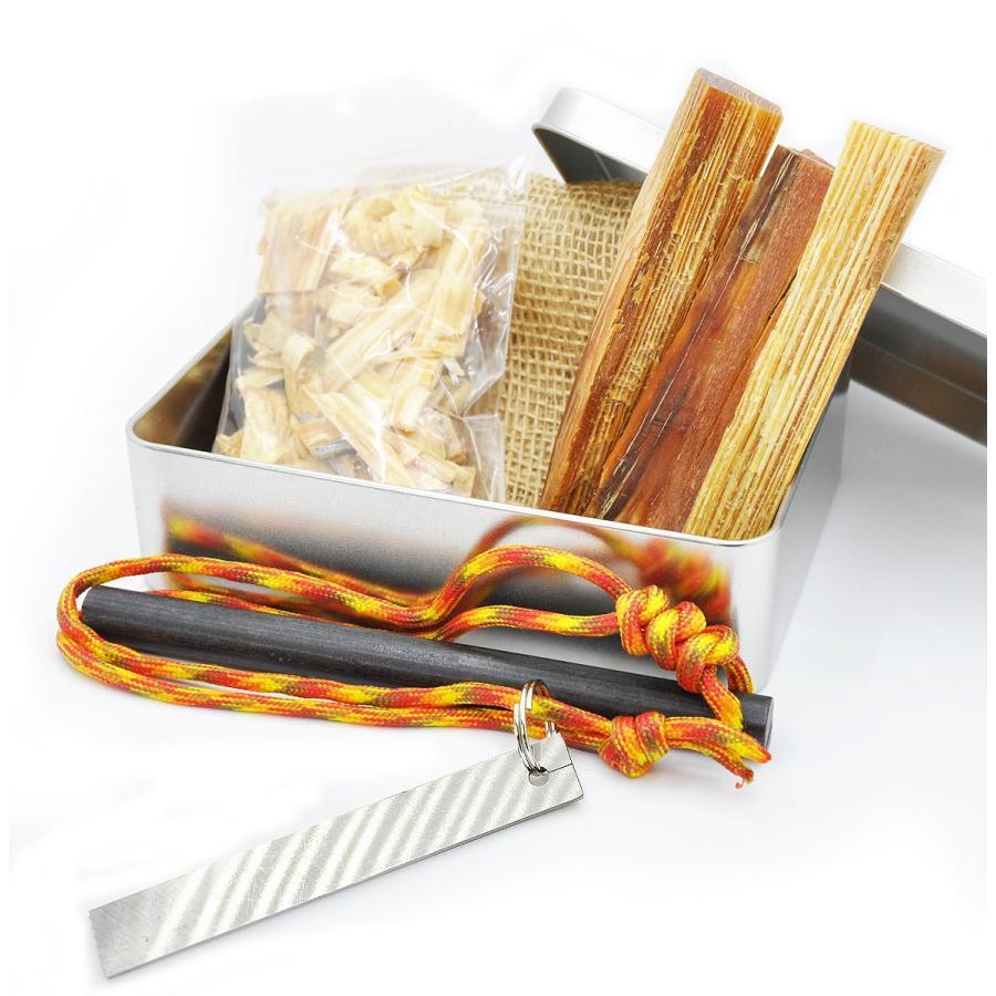 火おこしセット 火おこし 方法 火起こし コツ 木 サバイバル アウトドア トーチ  ファットウッド 販売 casllee|happyness