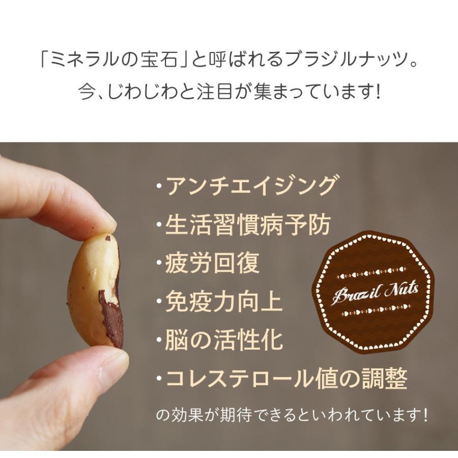 生ブラジルナッツ 55g スーパーフード 無塩 無添加 小分け ダイエットサポート 抗酸化物質セレン 一日一粒  ハッピーナッツカンパニー|happynutscompany|05