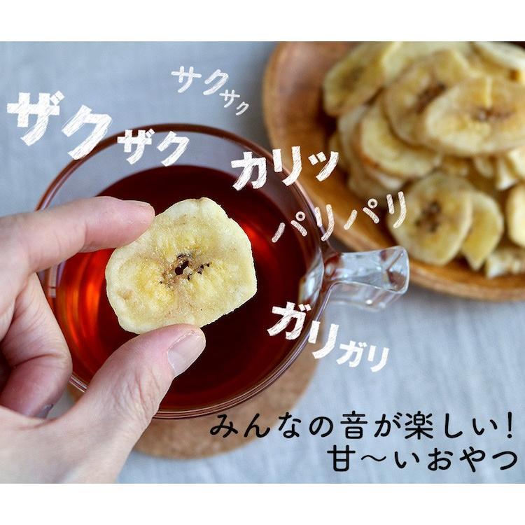 バナナチップス フィリピン産 100g 健康おやつ ビタミンB カリウム ドライフルーツ ナッツ専門店 ハッピーナッツカンパニー|happynutscompany|03