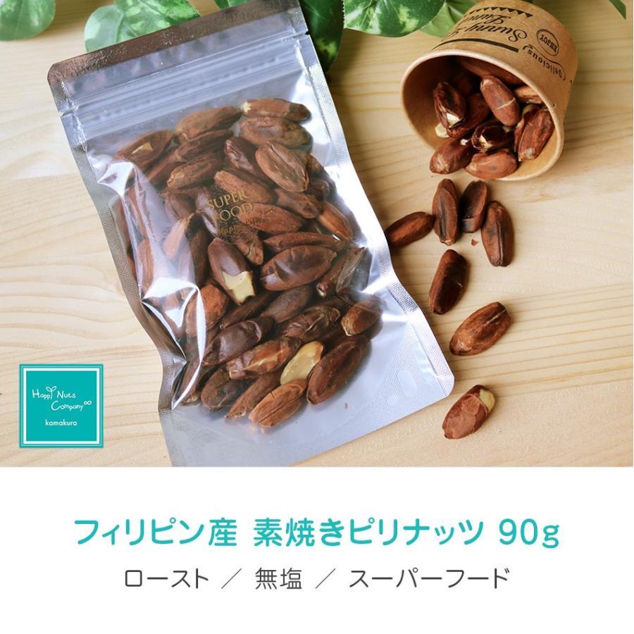 ピリナッツ フィリピン産 素焼き 無添加 無塩 90g 高タンパク質 からだづくり ハッピーナッツカンパニー|happynutscompany|06