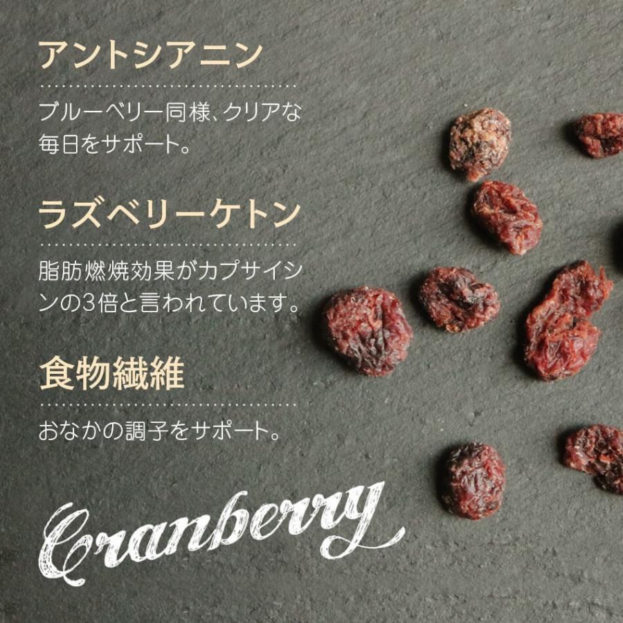 クランベリー微糖 150g カナダ産 ドライクランベリー 体サポート ダイエットサポートスーパーフード ハッピーナッツカンパニー|happynutscompany|08