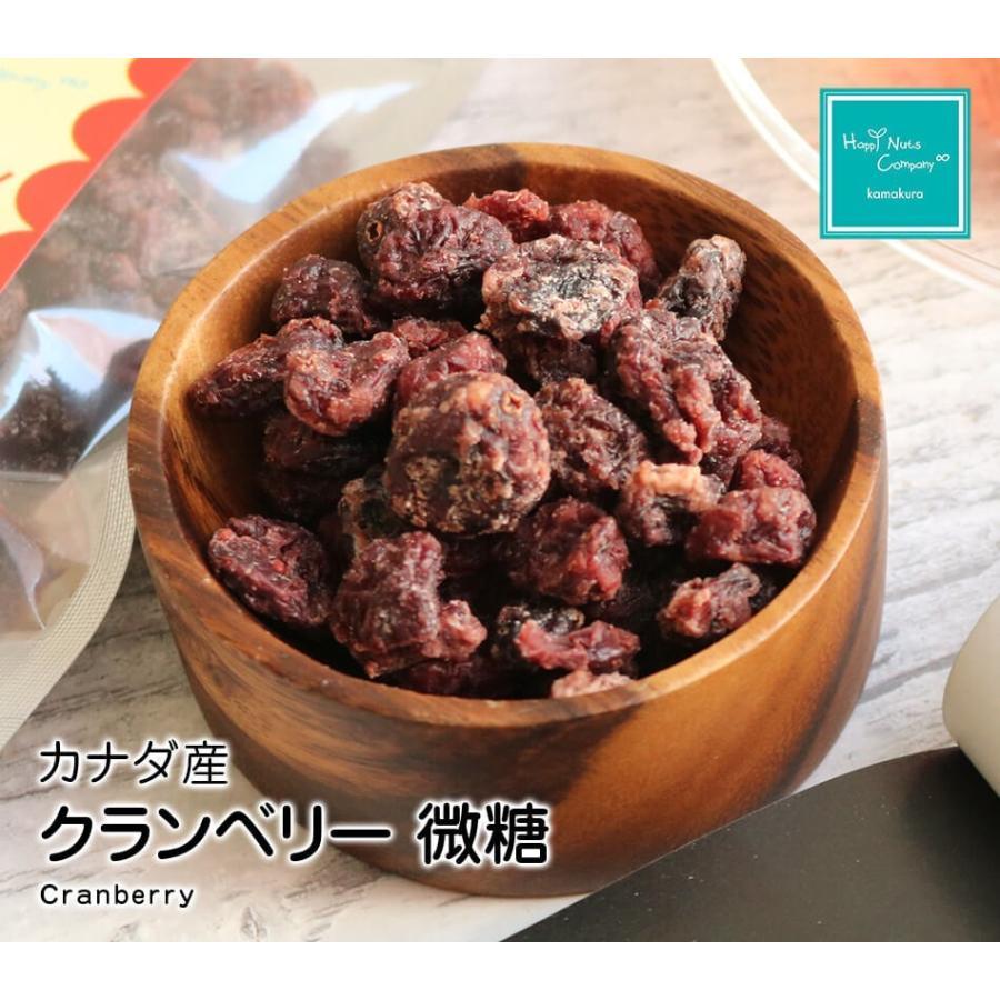 クランベリー微糖 150g カナダ産 ドライクランベリー 体サポート ダイエットサポートスーパーフード ハッピーナッツカンパニー|happynutscompany|09
