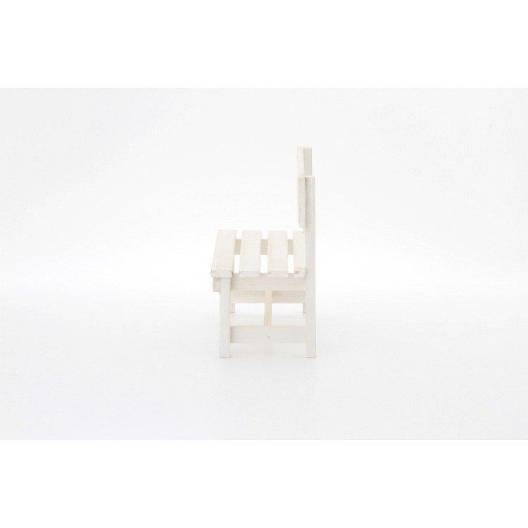 ミニベンチ おしゃれ 木製 2個セット ホワイト happysofa 03