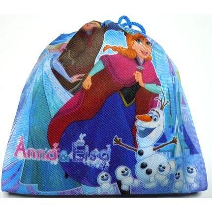 お菓子 駄菓子の詰め合わせ アナと雪の女王 巾着袋入り 100円 卒園 卒業 こどもの日 harasho