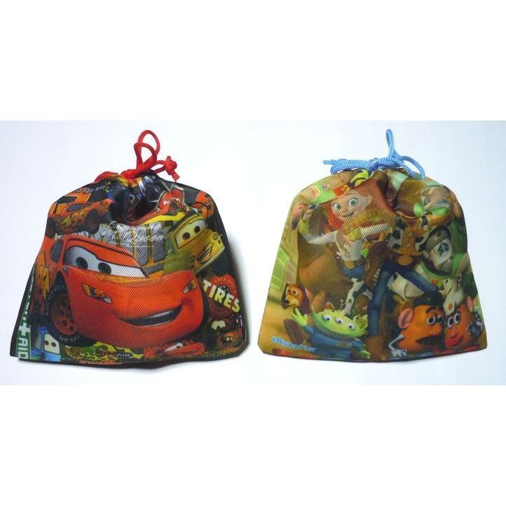 お菓子 駄菓子 詰め合わせ 結婚式 プチギフト ディズニー 巾着袋入り   メッセージカード サンクスカード harasho 04