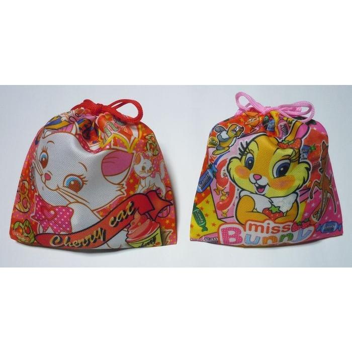お菓子 駄菓子 詰め合わせ 結婚式 プチギフト ディズニー 巾着袋入り   メッセージカード サンクスカード harasho 05