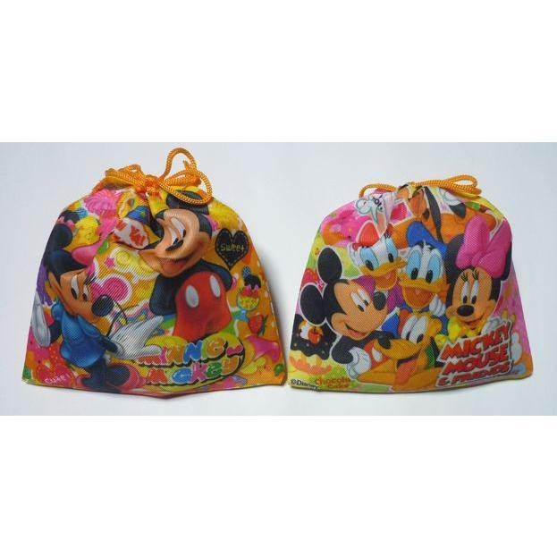 お菓子 駄菓子 詰め合わせ 結婚式 プチギフト ディズニー 巾着袋入り   メッセージカード サンクスカード harasho 09