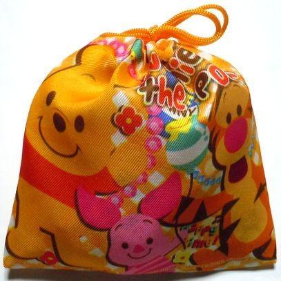 お菓子 駄菓子 詰め合わせ ディズニー カラフル 巾着袋入り 150円|harasho