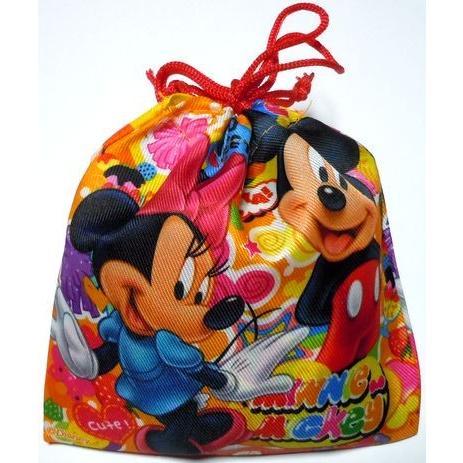 100円 驚きの価格が実現 駄菓子 詰め合わせ 賜物 カラフル ディズニー 巾着袋入り