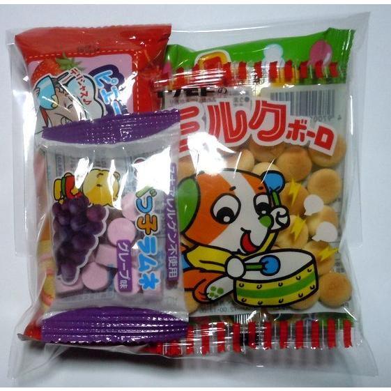 80円 駄菓子 詰め合わせ OPP袋入り 幼児用 お菓子4品入り harasho