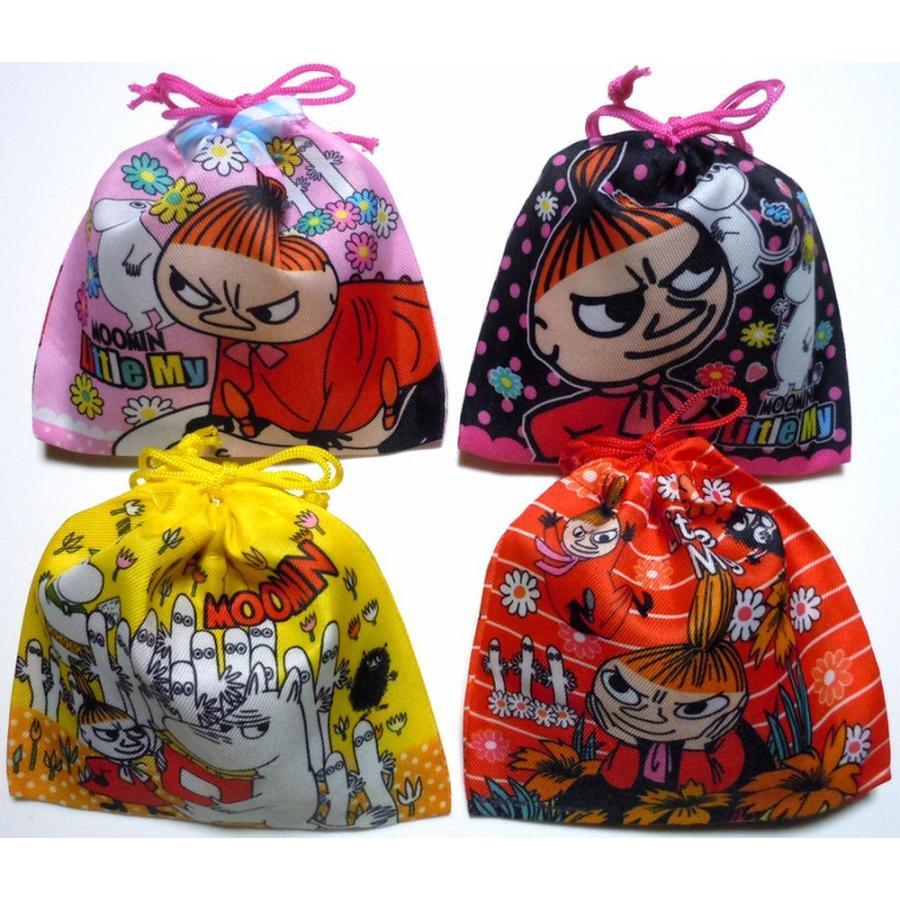 お菓子 駄菓子 詰め合わせ ムーミン 巾着袋入り 120円 こどもの日  harasho 03