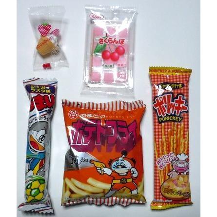 お菓子 駄菓子 詰め合わせ 結婚式 プチギフト  OPP袋仕様   メッセージカード サンクスカード|harasho|02