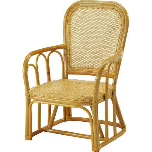 籐アームチェア 籐アームチェア y44 籐家具 籐 ラタン家具 ラタン 椅子 チェア チェアー 一人掛け 1人 一人がけチェア 1人 幅60 奥行63 高さ90 座面高さ35cm 籐製アームチェア