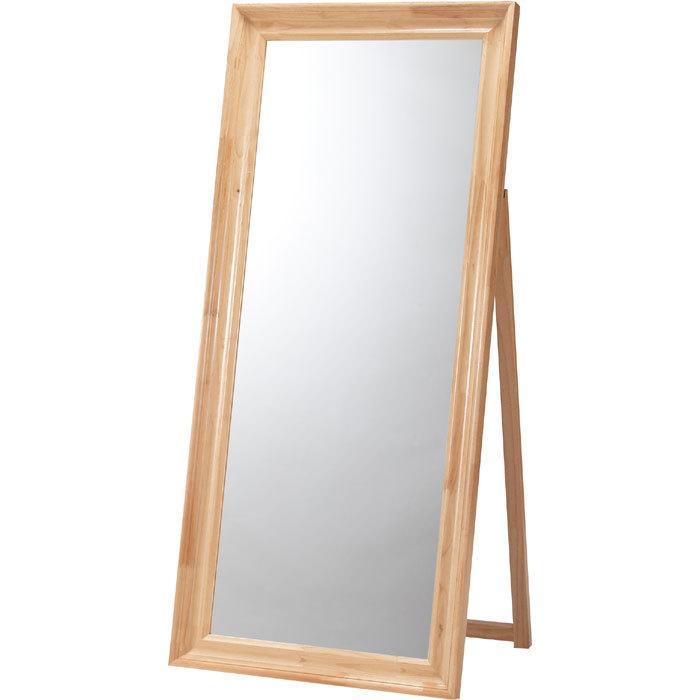 完成品 ワイドスタンドミラー 鏡 大型 姿見 アンティーク ナチュラル ナチュラル スタンドミラー スタンドタイプ ワイド ミラー 姿見鏡 全身 全身鏡 全身ミラー 幅74