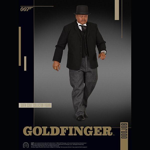 007 ゴールドフィンガー 1/6スケールフィギュア オッド・ジョブ